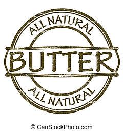 tudo, natural, manteiga