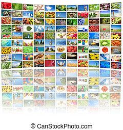 tudo, usado, quadros, tela tv, imagens, propriedade, meu,...