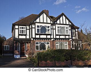 tudor 様式, ロンドン, 家
