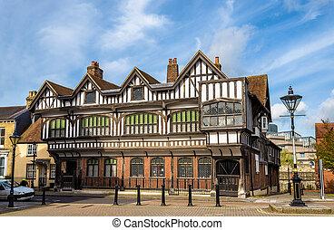 Tudor House in City Centre of Southampton, England