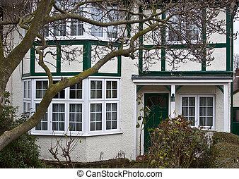 Tudor style house