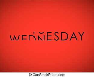 tuesday to wednesday turning text