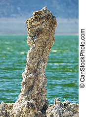 Tufa Tower - tufa tower at Mono Lake in California