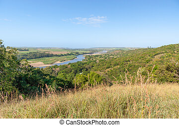 Tugela River, Kwazulu Natal, South Africa - One of the many ...