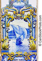 tuiles, (azulejos), portugal, pinhao, station, douro, ...