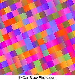 tuiles, coloré, résumé, -, fond, mosaïque