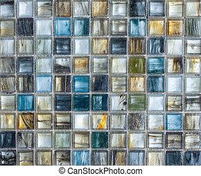 tuiles, coloré, résumé, texture, fond, mosaïque