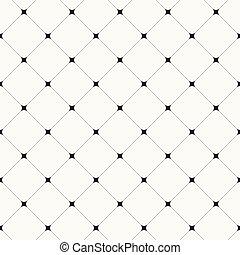 tuiles, fond, simple, modèle, moderne, -, diagonal, seamless, vecteur, propre