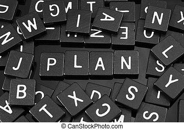 """tuiles, mot,  """"plan"""", noir, lettre, orthographe"""
