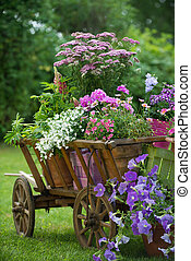 tuin, idyllisch