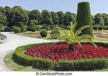 tuin, landscaped