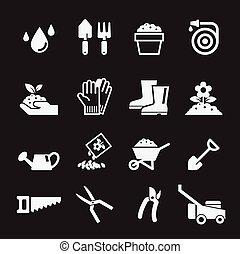 tuinieren, pictogram