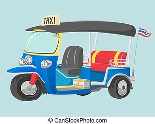 TUK-TUK Thailand Taxi - TUK-TUK is the name of Thailand Taxi...