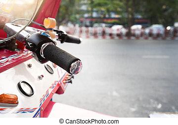 Tuk Tuk vehicle at Thailand