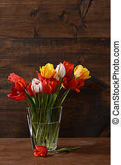 tulipes, vie, encore