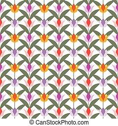 tulips on white seamless back ground
