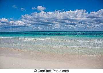 tulum, 光景, 浜, カリブ海, paradis