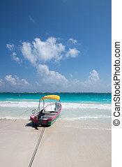 tulum, plage, mexique