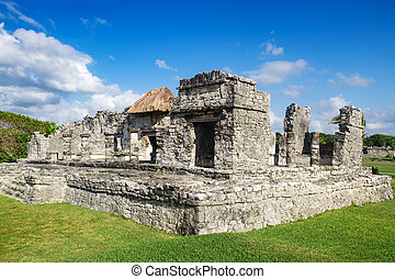 Tulum Ruins - Mexico, Yucatan, Maya sites