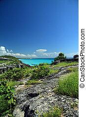 Tulum Seaside view