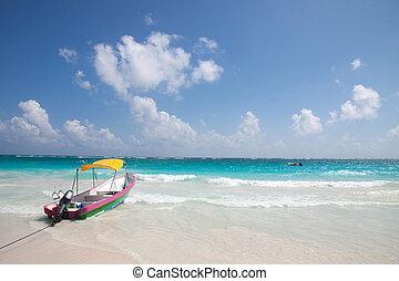 tulum, strand, mexico