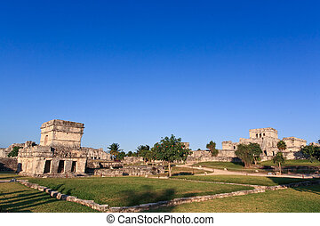 Tulum the one of most famous landmark in the Maya World near...