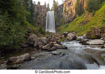 Tumalo Falls in Central Oregon