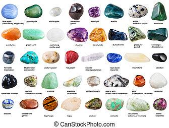 mineralien sammlung edelsteine namen dekorativ stockbilder suche stockfotos. Black Bedroom Furniture Sets. Home Design Ideas
