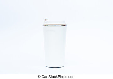 Tumbler isolated on white background