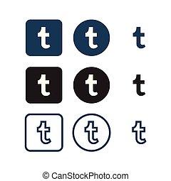tumblr, medier, sociale, iconerne