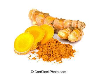 Tumeric and tumeric powder. - Tumeric is a Spice that...