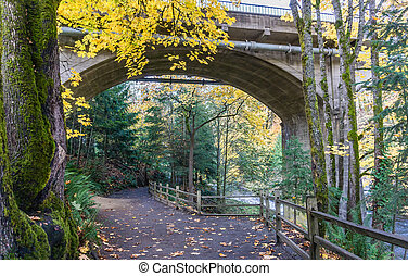 Tumwater Falls Park Arch