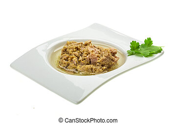 Tuna fillet
