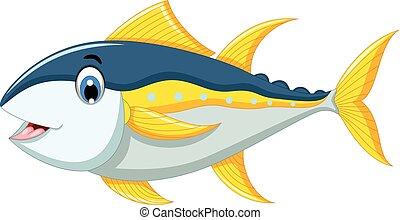 tuna fish cartoon for you design