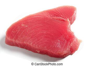 Tuna fish steak
