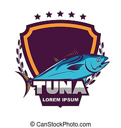 Tuna logo template