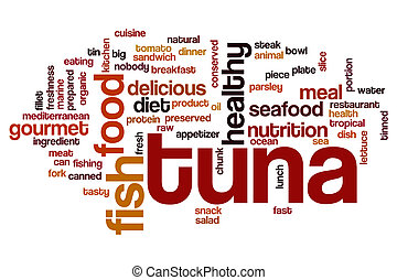 Tuna word cloud