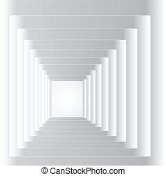 tunel, abstrakcyjny