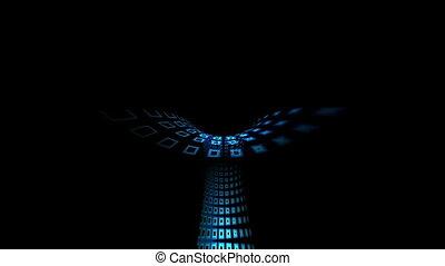 tunel, przez, tech, napędowy