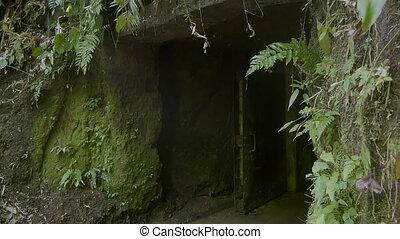tunel, wejście
