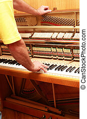 tuner, piano