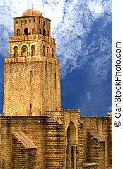 tunezja, meczet, qairawan
