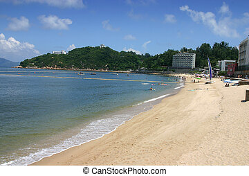 Tung Wan beach Cheung Chau - Hong Kong. One of Hong Kong\'s...