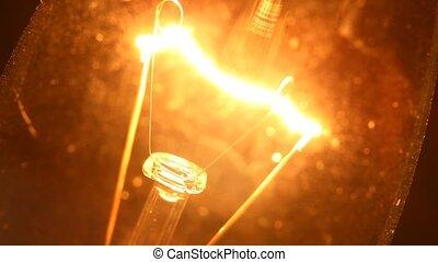 Tungsten bulb close-up
