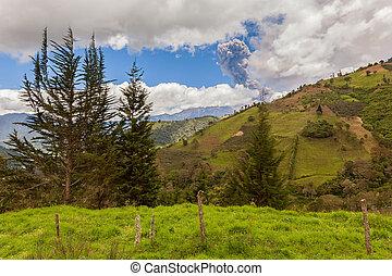 Tungurahua, South America - Tungurahua Volcano Has A Complex...