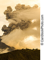 Tungurahua Volcano Explosion - Tungurahua Volcano Erupting...