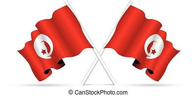 tunisia, bandiera nazionale