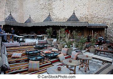 "tunisia., bou, medyna, said"", kawiarnia, hammamet., ""sidi"