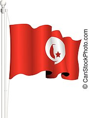 tunisia national flag