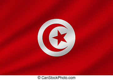 tunisie, drapeau national